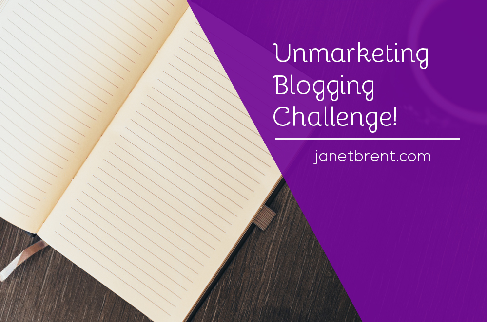 unmarketingbloggingchallenge